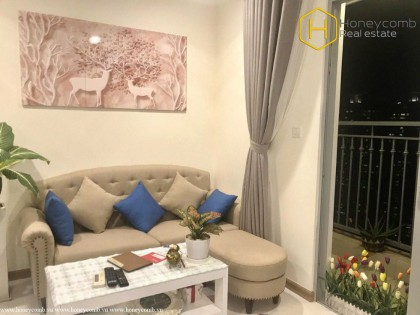 Fully furnished 2-bedroom apartment in Vinhomes Central Park for rent