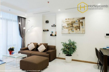 Modern style and Luxury with 2-bedroom apartment in Vinhomes Central Park
