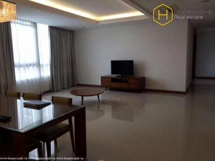 Perfect interior with a 3-bedroom apartment in Xi Riverview Palace