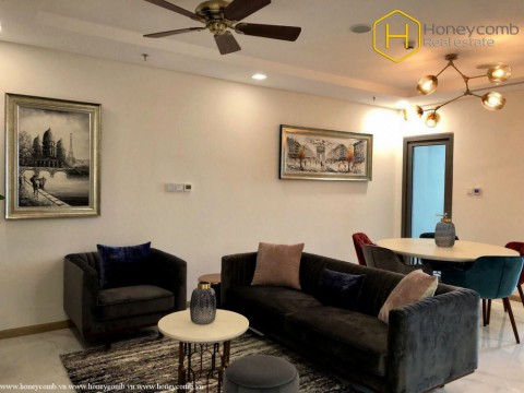 Pretty decorated with 2 bedrooms apartment in Landmark 81 for rent