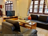 Western style designed villa with quiet location in Thao Dien, District 2 for rent