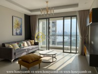 Diamond Island apartment: High class living space with panoramic perfect river view. For rent now!