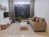 Fully-furnished apartment with the brown elegant tone in Estella Heights for rent