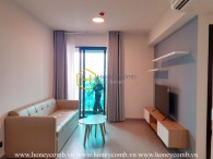 Simplified design apartment with gentle interiors for rent in Feliz En Vista