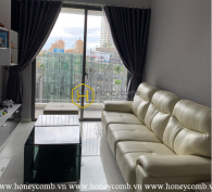 This adorable  2 bed-apartment with lovely ornament at Masteri An Phu