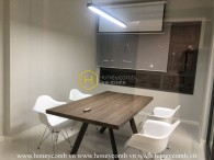 The semi-furnished and convenient apartment suits for office in Masteri An Phu