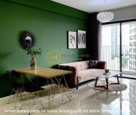 Blending the wildness and pleasantness to create this 2 bed-apartment at Masteri An Phu
