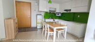 Cozy atmosphere apartment with simple layout for rent in Masteri Thao Dien