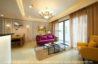 Tempting design apartment with splendid ornamentations for lease in Masteri Thao Dien