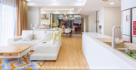 Apartment linkble in Masteri 4 bedrooms for rent, full furniture