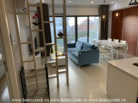 Three bedroom apartment with low floor and cheap price in Masteri for rent