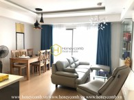 Three bedroom apartment city view in Masteri for rent