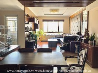 Beautiful antique apartment with classic wooden furniture in Tropic Garden