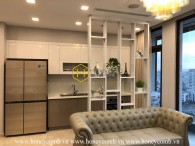 Magical design! Special apartment in Vinhomes Golden River that would make you fall in love immediately! Now for rent