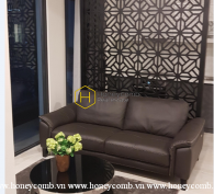 Charming black beauty apartment for rent in Vinhomes Golden River