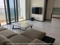 Simple apartment with modern taste for rent in Vinhomes Central Park