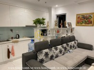 This cozy and cheerful apartment in Vinhomes Central Park is designed to make you feel like home! For lease now!