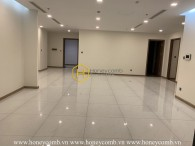 Let create your own living space with this unfurnished and spacious apartment in Vinhomes Central Park