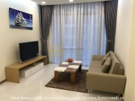 Stunning apartment with gentle floral design apartment for rent in Vinhomes Central Park
