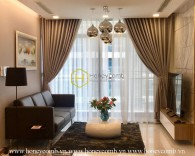 Elegant – Subtle – Charming! This beautiful apartment is for you! Now for rent in Vinhomes Central Park