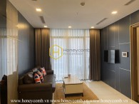 Get into a simplified lifestyle with this stunning apartment in Vinhomes Central Park! Ready for rent !