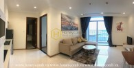 Vinhomes Central Park apartment- Extremely homey and elegant living space for your family