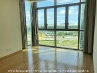 Căn hộ không nội thất với không gian sống rộng rãi cho thuê tại The Vista