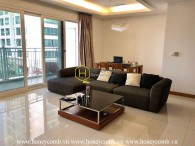 Beautiful decoration 145sqm for rent in Xi Riverview Palace