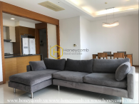 Comtemporary design apartment with neutral color interiors for rent in Xi Riverview