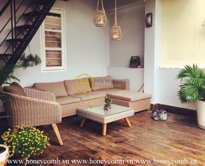 4 bedroom villa in peaceful area in Thao Dien