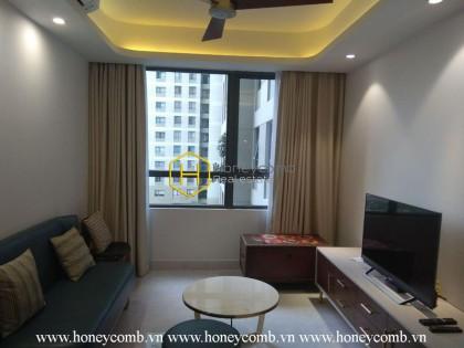 Wonderful 1 bedroom apartment with low floor in Masteri Thao Dien