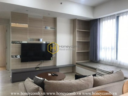 Lush contemporary 2 bedrooms apartment in Masteri Thao Dien for rent