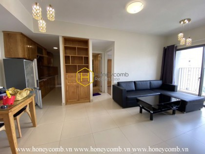 Fully-furnished apartment with welcoming atmosphere for rent in Masteri Thao Dien