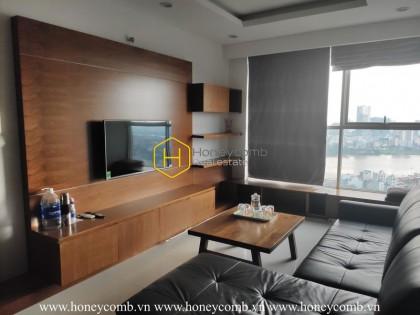 Unique architecture! Scadinavia designed apartment in Thao Dien Pearl for lease