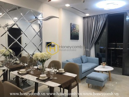 Subtle design apartment with stunning Landmark 81 view is waiting for you at Vinhomes Golden River – Now for rent