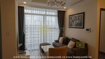 Modern design and fully-equipped apartment for rent in Vinhomes Central Park