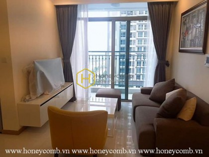 Such an elegant apartment that perfectly designed for simplified lovers! Now for rent in Vinhomes Central Park