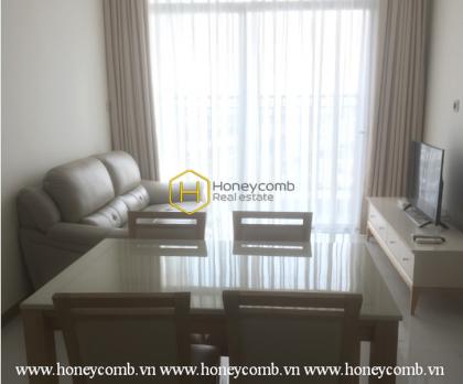 Minimalist design apartment for rent in Vinhomes Central Park