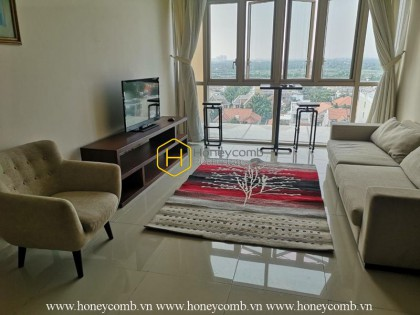 Basic furnished apartment with good rental price in The Vista