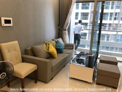Modern design and amenities are waiting for you in this apartment! Now for rent in Vinhomes Central Park
