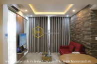 One bedroom apartment with modern style and high floor in Masteri