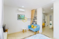 Spacious and captivating is what we describe this superior District 2 serviced apartment