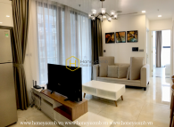 Take the advantages of living in this sumptuous Vinhomes Golden River apartment