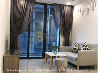 Colorful design in this stunning apartment for rent in Vinhomes Golden River