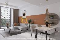 Một sự tương phản ngọt ngào cho một thiết kế độc đáo trong Empire City căn hộ
