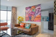 Amazing 2 bedroom apartment with nice view in City garden for rent