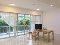 Graceful architecture in this rental unfurnished apartment in The Estella