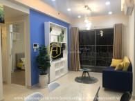 Căn hộ 1 phòng ngủ xinh xắn và đầy màu sắc cho thuê tại Masteri Thảo Điền