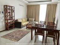 Trang trí hài hòa giữa màu xám và màu be trong Thao Dien Pearl căn hộ