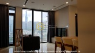 The 2 bedrooms-apartment is very convenient in Vinhomes Golden River